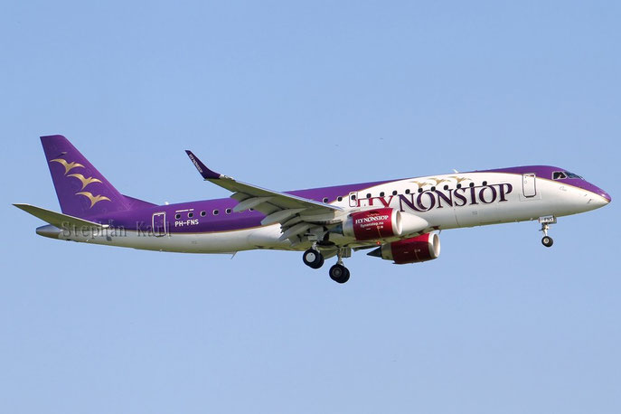 FlyNonstop Embraer 190 PH-FNS