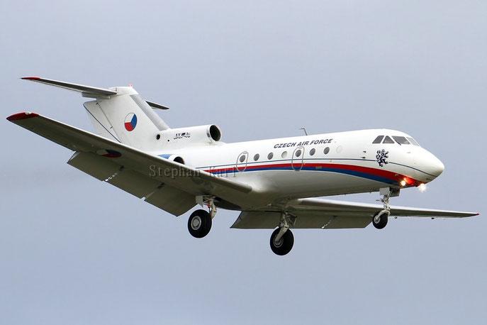Czech Air Force Yak-40
