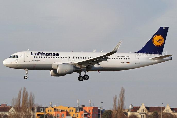 Lufthansa A320SL D-AIZP