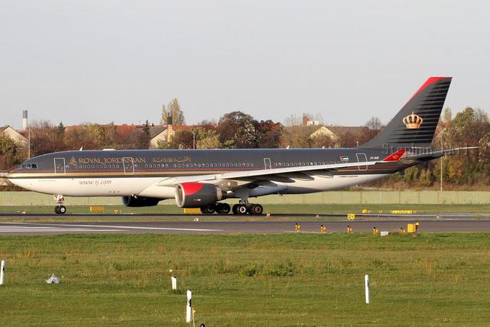 Royal Jordanian A330 JY-AIF