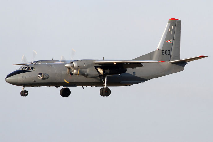 Hungary Air Force AN-26 603