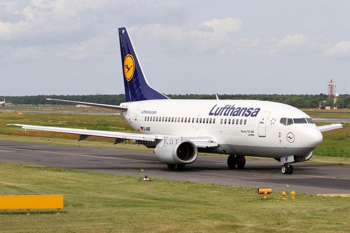 Lufthansa Boeing 737-500 D-ABIF