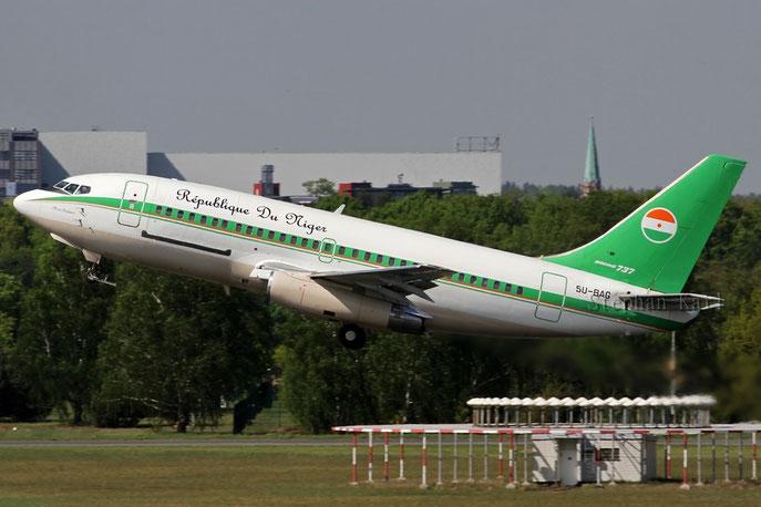 République du Niger Boeing 737-200 5U-BAG
