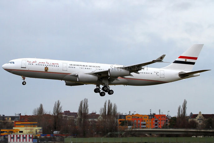 Government of Egypt A340-200 SU-GGG