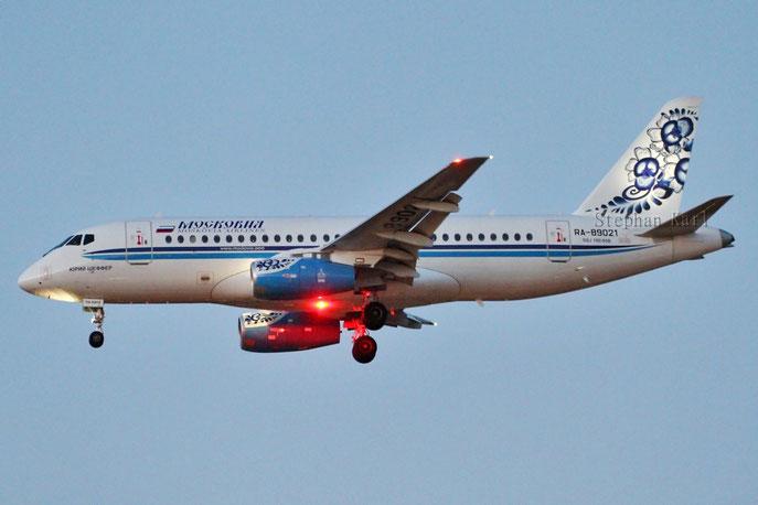 Moskovia Superjet RA-89021