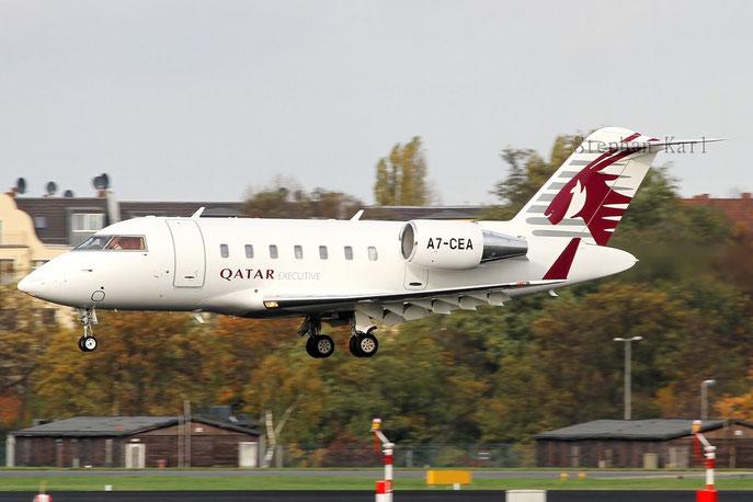 Qatar Executive Challenger A7-CEA