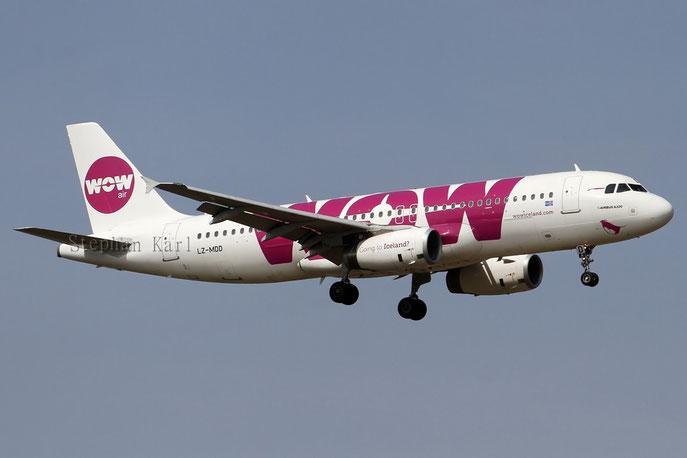WOW Air A320 LZ-MDD