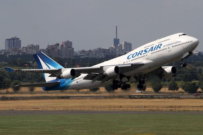 Corsair 747-400 F-GTUI