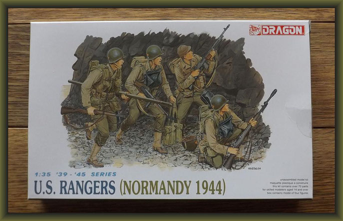 U.S. Rangers (Normandy 1944) Dragon - Nr. 6021 - 1:35