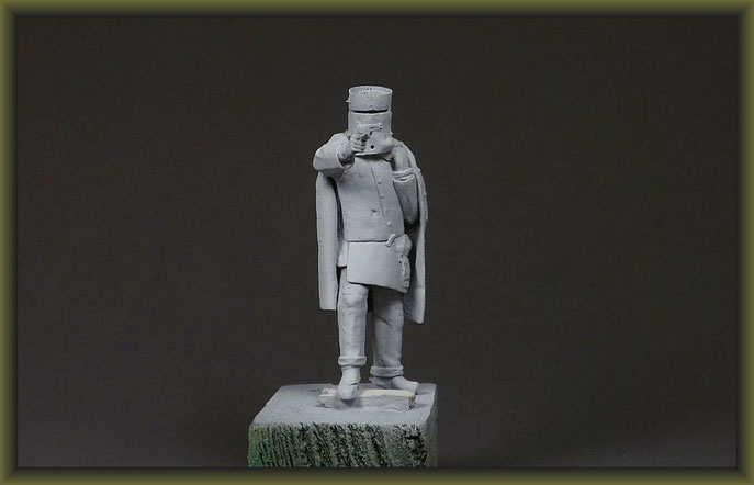 Ned Kelly 54mm Figure Conversion