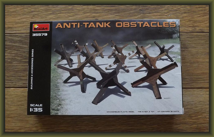 Anti-Tank Obstacles MiniArt - Nr. 35579 - 1:35