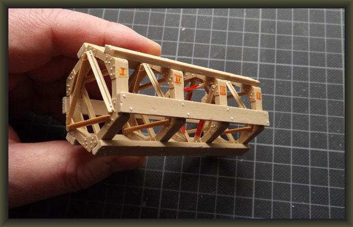 British Mark V 'Male' Tank, Diorama 1:35, Building Report