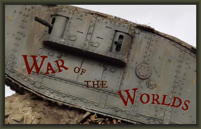 """Mk.IV """"Female"""" Tank, Diorama 1:35"""