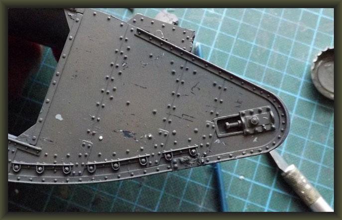British Mk II Female Tank, 1:35