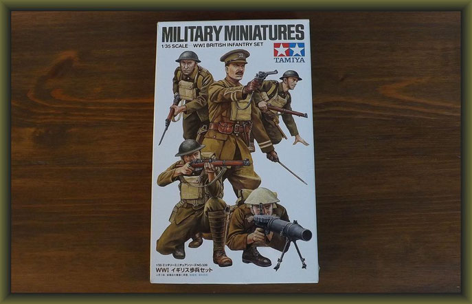 WWI British Infantry Set Tamiya Nr. 35339  1:35