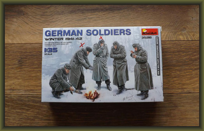 German Soldiers (Winter 1941-42) MiniArt - No. 35218 - 1:35
