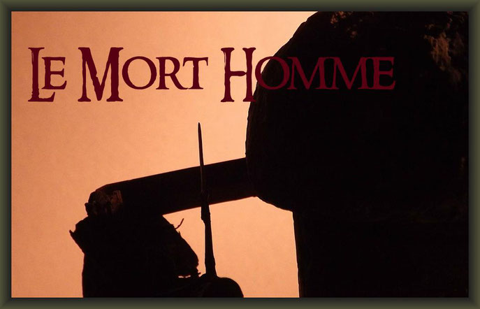 Mort Homme, Verdun 1916, 54mm Vignette