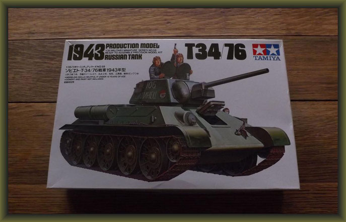 T34/76, 1943 Production Model Tamiya MM159