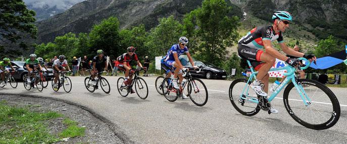 Passage du Tour de France dans la proche région