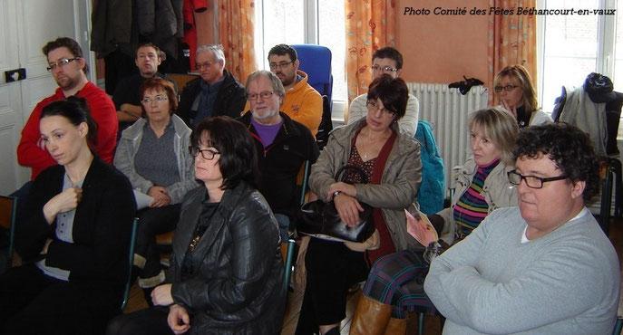 Bonne participation des habitants de la commune. 7 nouvelles personnes ont rejoint l'effectif de l'association.