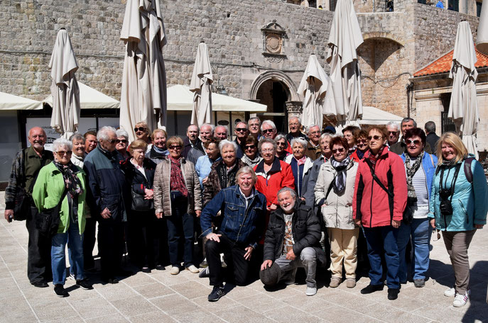 21. April 2017 mit der Ortsgruppe Hornstein in Dubrovnik