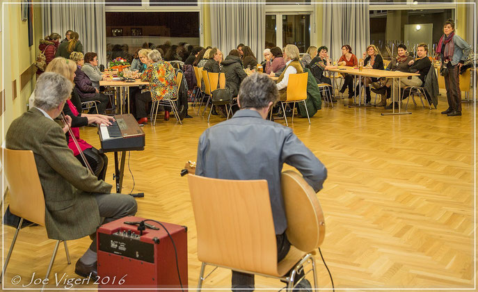 Treffen am 16.02.2016 in Cafe Auszeit - Siedlung Maria Theresia