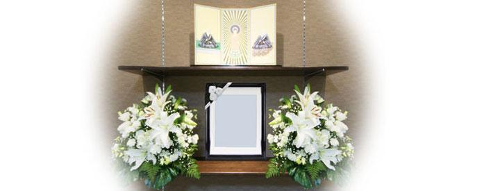 家族葬現代祭壇プラン40祭壇