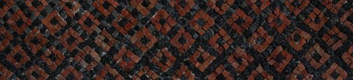 Mosaik in einer palästinensischen Kirche. (Photo: Wilfried van Esser)