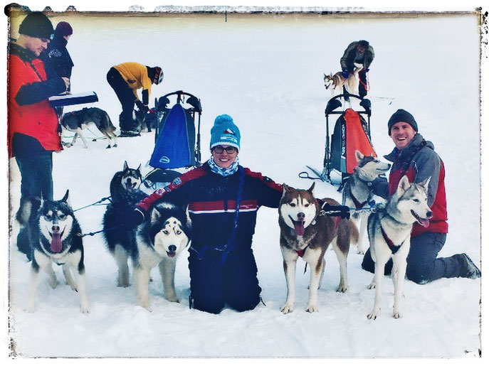 TEAM SPARKLES Musher in Action (V. Décorvet)