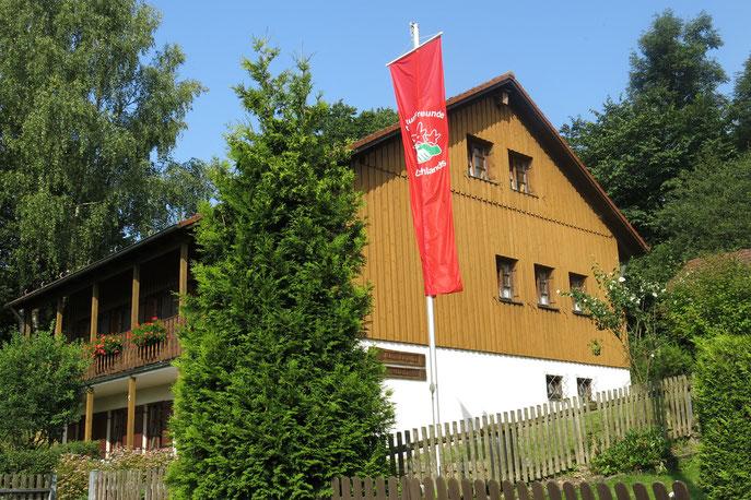 unser Naturfreundehaus in Trauschendorf