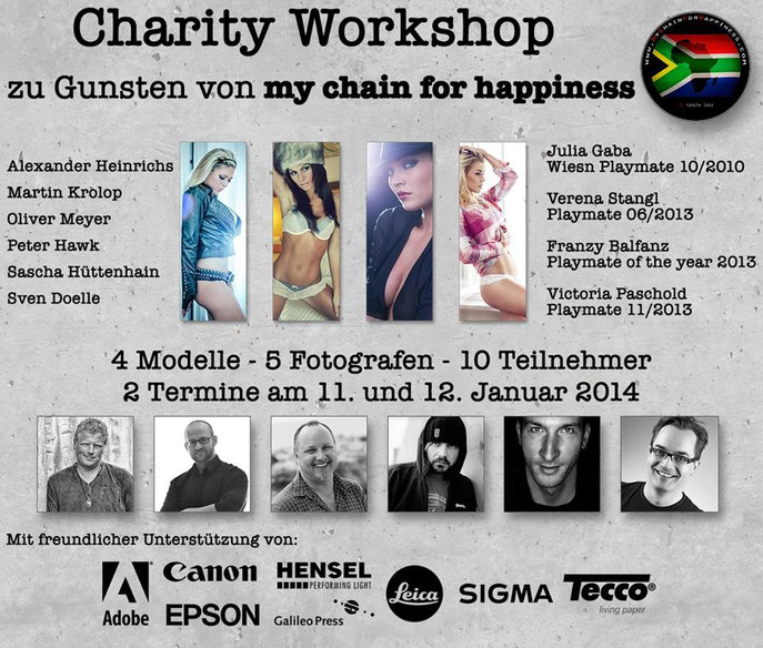 Charity Workshop zu Gunsten von MyChainForHappiness