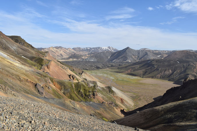 Colourful mountains - day hikes from Landmannalaugar - Vondugil