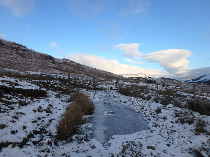 West Highland Way in December