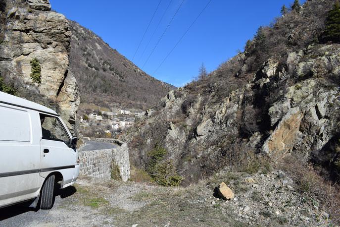 Fontpédrouse hot springs Catalan Pyrenees
