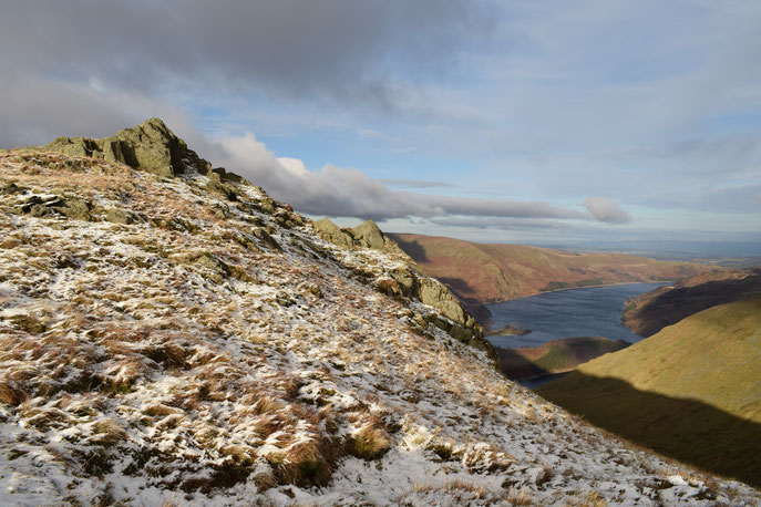 Haweswater from Harter Fell, Lake District, short hike
