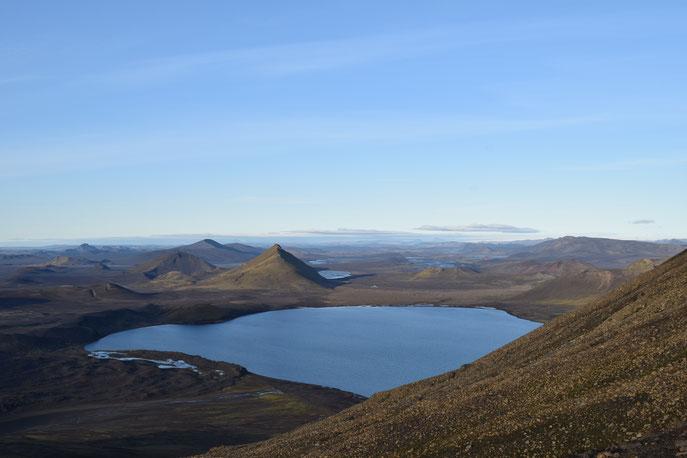 Frostastaðavatn from Námsfjall, Landmannalaugar, Fjallabak