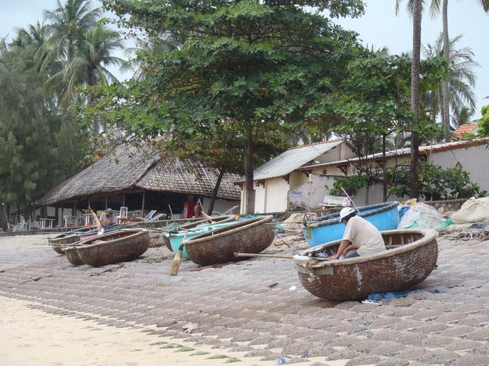 Coracle, Mui Ne beach, Vietnam