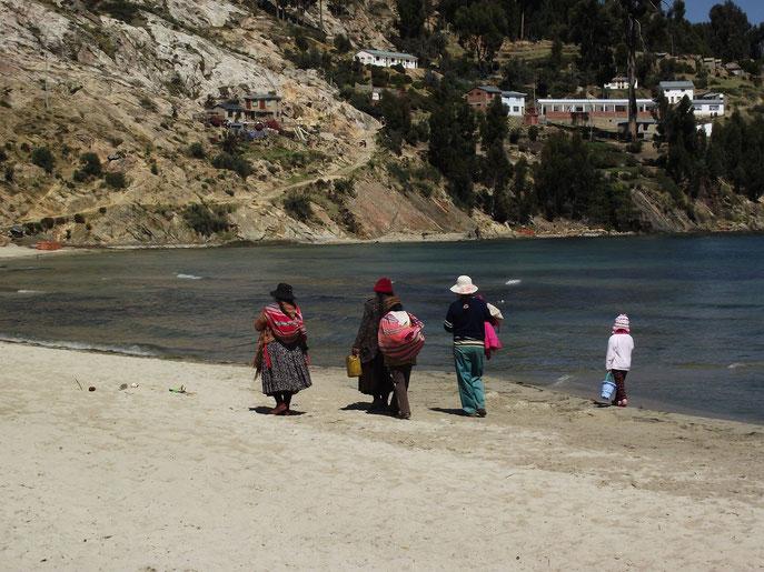 Lake Titicaca, Isla del Sol, Bolivia