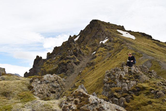 Útigönguhöfði, Goðaland