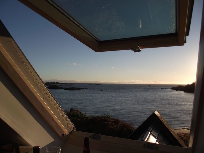 View from the Dower House, Isle of Islay, Scotland