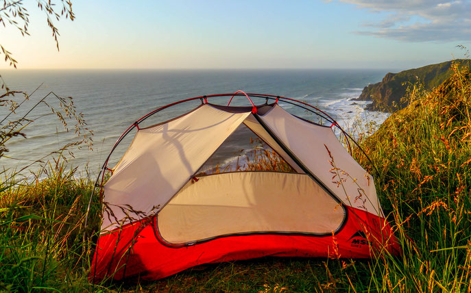 wild camping New Zealand North Island
