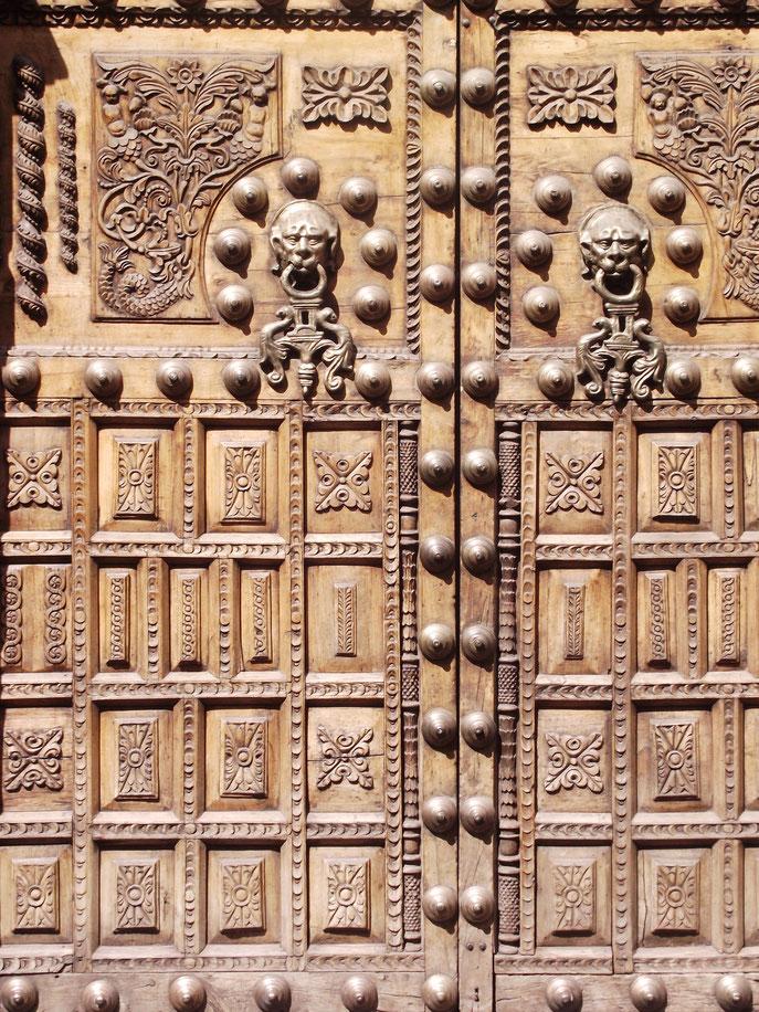 Cusco Peru doors detail