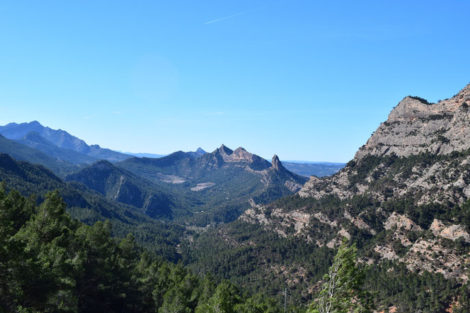 Mountains around La Fontcalda