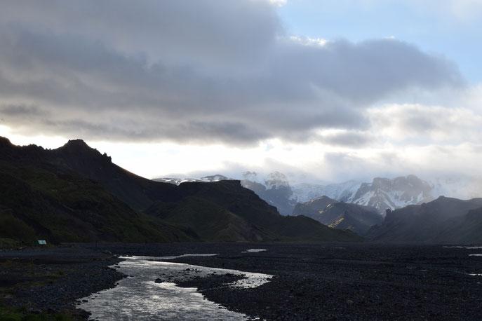 Mýrdalsjökull, Þórsmörk