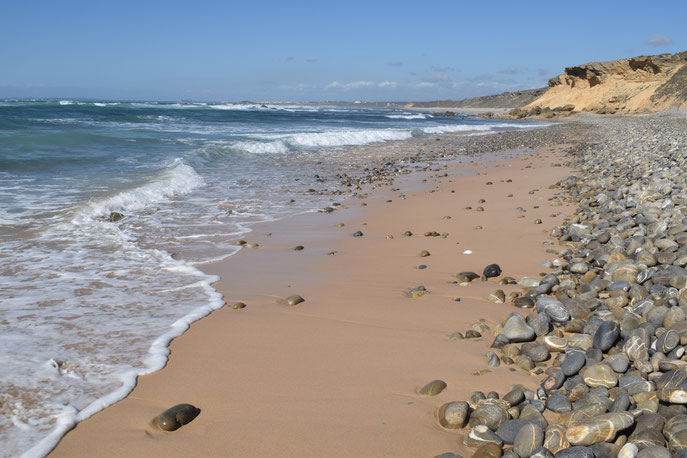 Malhão, beach, Portugal