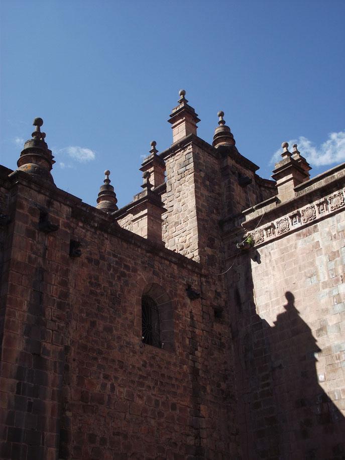 architecture Cusco Peru Plaza de Armas stonework