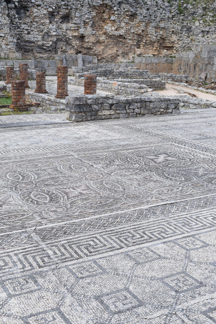 House of Swastikas Conimbriga Roman mosaic