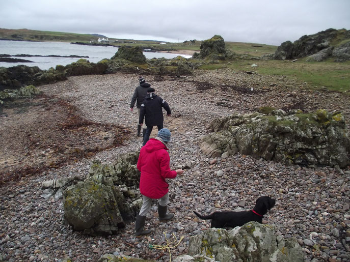 beach Isle of Islay, Inner Hebrides, Scotland.
