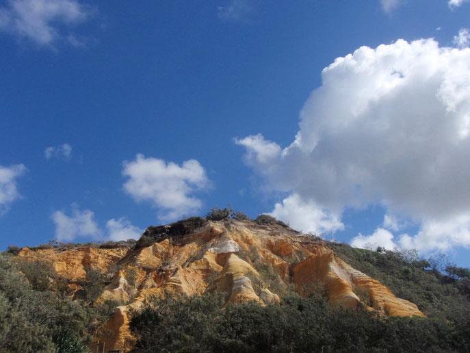 Sand pinnicles, Fraser Island, Australia