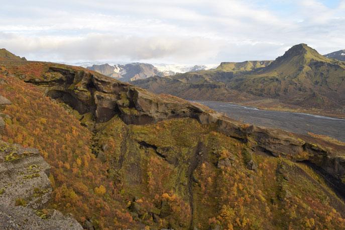 September- autumn in Thorsmork